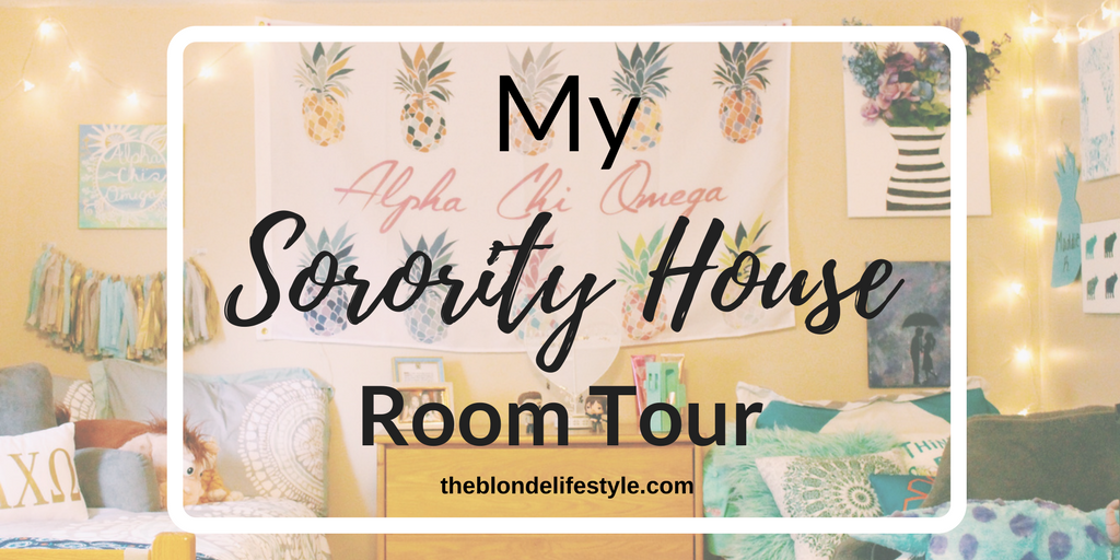 My Sorority House Room Tour