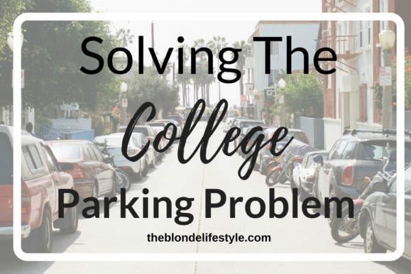 Solving the college parking problem