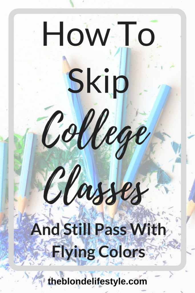 I hate missing college classes, but sometimes life can get in the way and you miss a few days here and there. Other people may just have better opportunities to skip their classes and still have an A all year. Find out how!