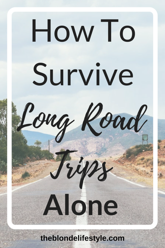 Since starting college I've been having to make the long drive home every so often. It's been so boring! Especially since I drive home alone, but I've learned to tolerate it with these tips!