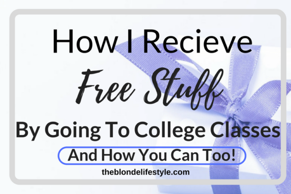 Going to classes in college is already rough, by why not get rewarded for it? I've come across this new app called Pocket Points that rewards college students by being off their phone during class. Learn how you can reap these awesome rewards and deals! --theblondelifestyle.com