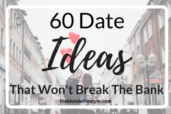 Dating can get quite expensive in college. There are quite a few cheap alternatives to having a romantic and fun couples night out. 60 Date Ideas That Won't Break The Bank --theblondelifestyle.com